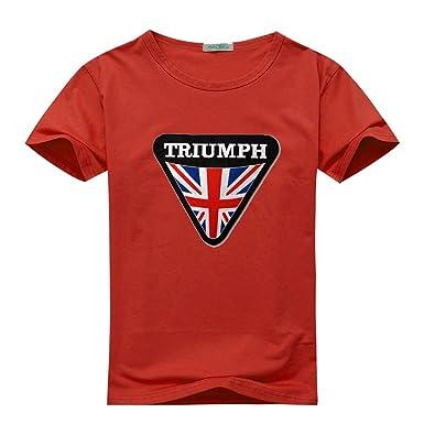 b9c6662f5 Amazon.com: Triumph Vintage Logo For 2016 Mens Printed Short Sleeve tops t  shirts: Clothing