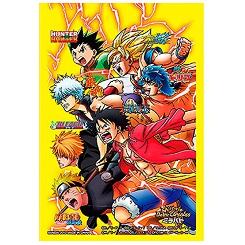 ALL STAR HEROES One Piece Naruto Bleach Dragon Ball Z Character Card Sleeves TCG CCG MTG Magic Weiss Schwarz (Sleeves Naruto Card)