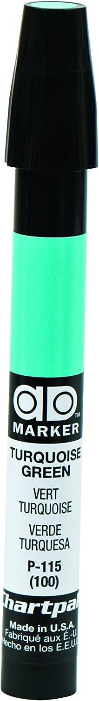 The Original Chartpak AD Marker, Tri-Nib, Turquoise Green, 1 Each (P115)