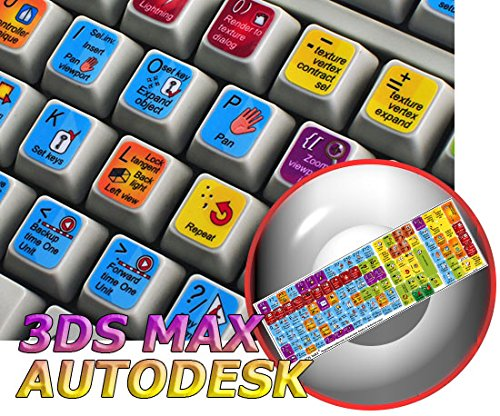 NEW AUTODESK 3DS MAX (GRAPHIC DESIGN EDITING) KEYBOARD STICKER FOR DESKTOP, LAPTOP AND NOTEBOOK ebook