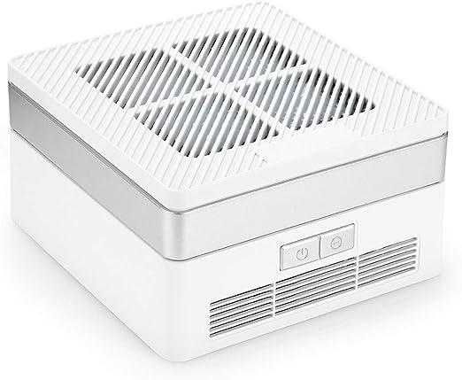 Conector EE.UU. Purificador de Aire de Escritorio/automóvil Limpiador Esterilización de aniones Eliminación de formaldehído PM2.5, Filtro de Aire para Reducir el Olor Polvo de alérgeno para la ofici: Amazon.es: Hogar