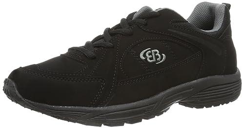 Bruetting Glendale 591045 - Zapatillas de cuero para hombre, Gris (Grau (Grau/Schwarz)), 46 EU