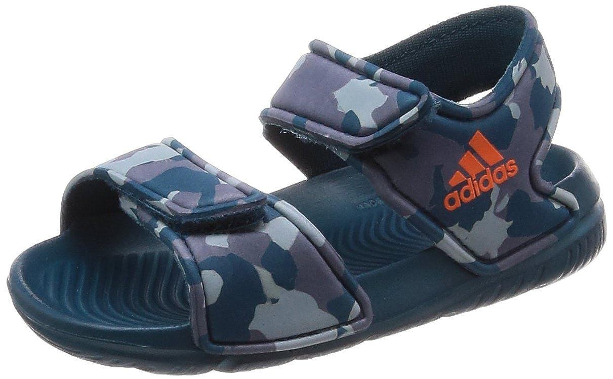 outlet store ad00e c1d90 adidas Altaswim, Sandales Bout Ouvert Mixte bébé  Amazon.fr  Chaussures et  Sacs