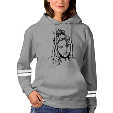 f3f38f29f TLZCGWCW Billie Line Drawing Women's Hoodie Sweater Jacket Pullover at  Amazon Women's Clothing store: