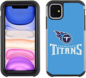 Cell Phone Case for Apple iPhone 11 - NFL Licensed Tennessee Titans - Textured TeamColor