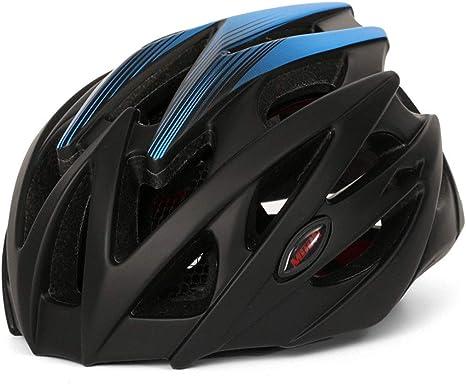 Hombres Mujeres Deportes Luna llevó la luz Cascos de Bicicleta del ...
