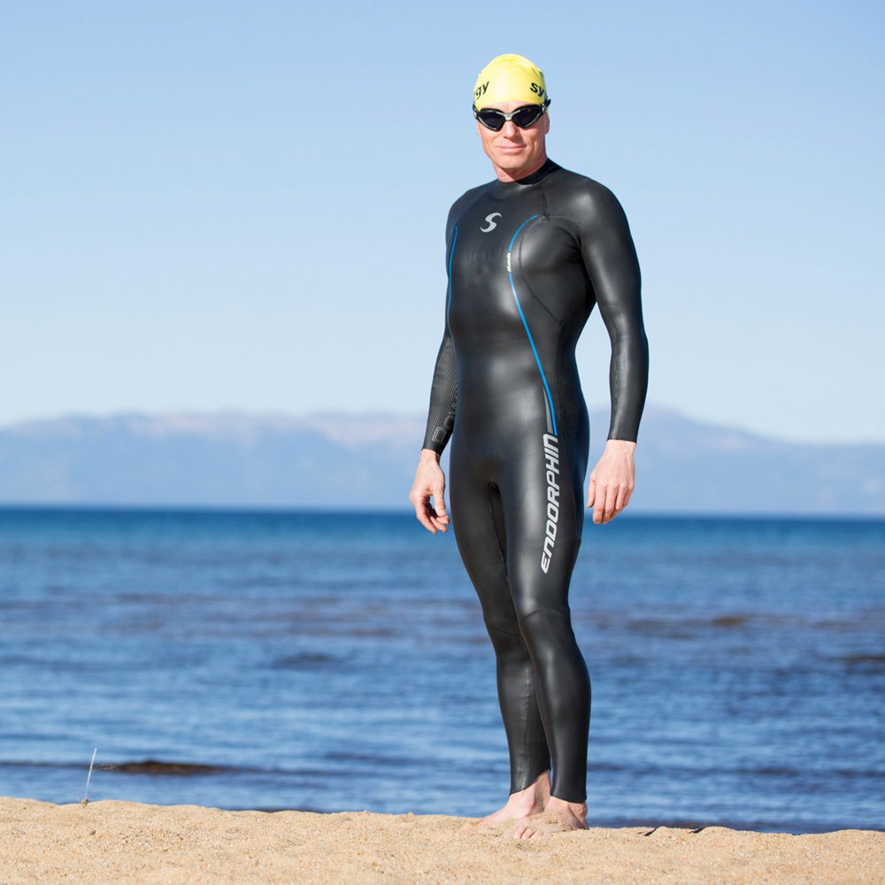 Synergy Endorphin Men's Full Sleeve Triathlon Wetsuit (M1) by Synergy (Image #5)