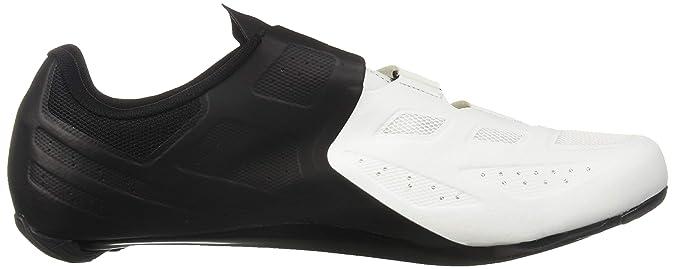 PEARL iZUMi Select Road V5 - Zapatillas Hombre - Blanco/Negro Talla del Calzado 45 2019: Amazon.es: Zapatos y complementos