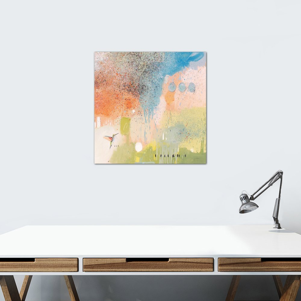 iCanvasART Hummingbird at Home I Canvas Print 26 x 26