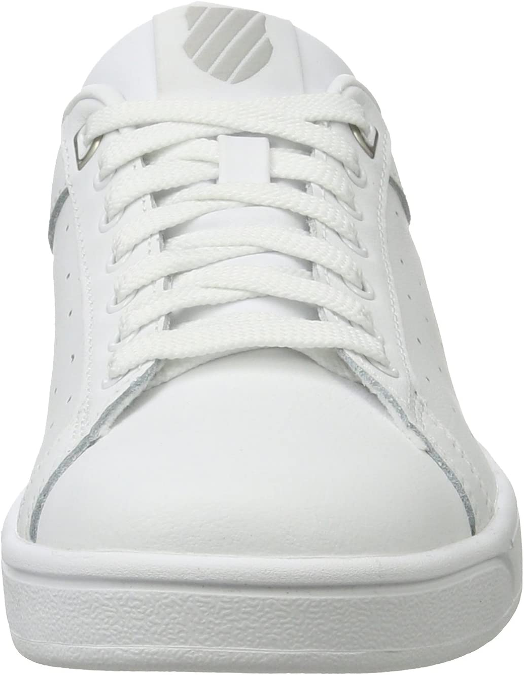 K-Swiss Clean Court CMF Sneakers voor dames Wit Wit Wit Gull Gray 131