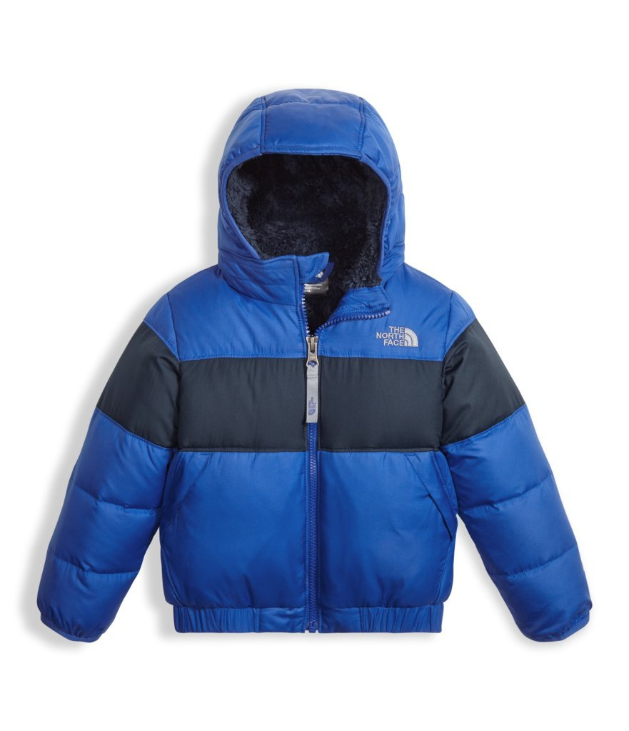 The North Face Toddler Boys Moondoggy 2.0 Down Jacket - Bright Cobalt Blue - 3T by The North Face