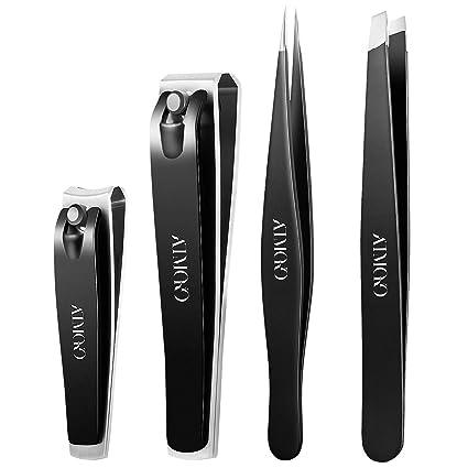 Amazon.com: Atmoko - Juego de cortaúñas con kit de pedicura ...