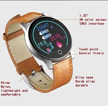 LJMR Smartwatch, R2 ECG Smart Bracelet Sports Watch ECG + PPG ECG ...