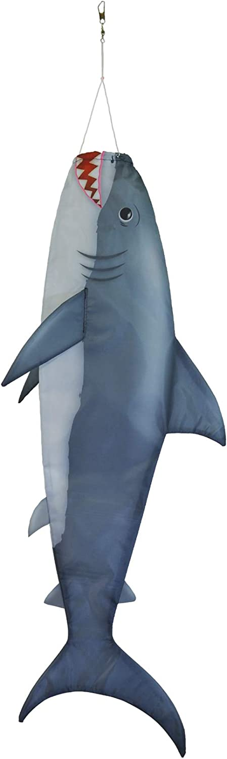 "In the Breeze 5154 Inch Fish Windsock-Realistic Fishsock, 30"" Baby Shark"