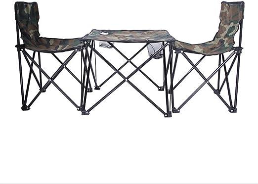 Mesa plegable de camping mesa Conjuntos de sillas y mesas de playa ...