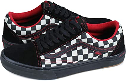 Vans Old Skool Pro BMX Kevin Peraza BlackCheckerboard Black