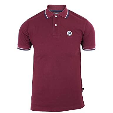 Hombre Trojan Records Retro Mod Polo - tr8214 GRANATE - Granate ...