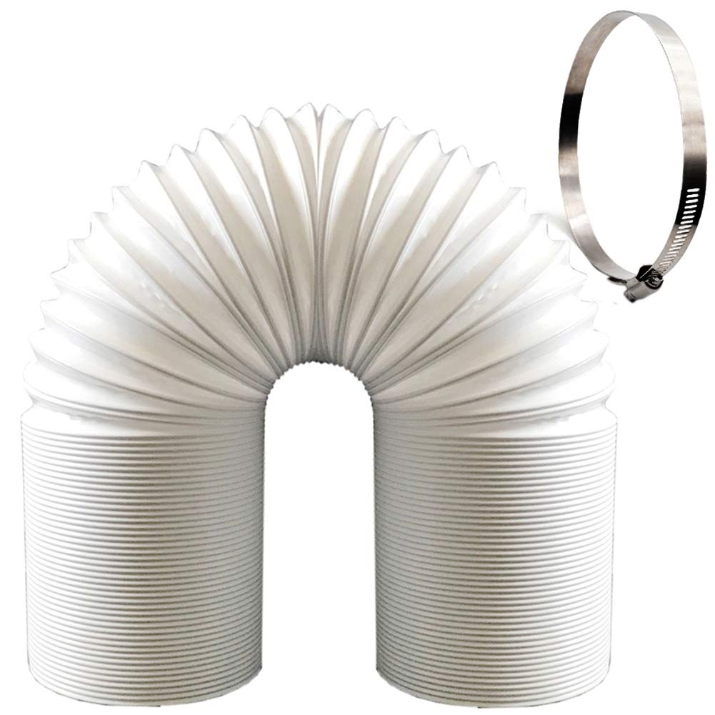 NORTHERN BROTHERS Air Exhaust Hose for Portable air Conditioner-Counterclockwise,Compatibility,5 inch Diameter Universal (59 inch Length)