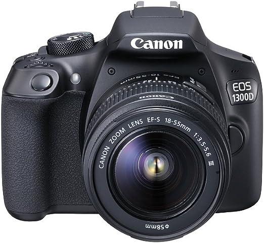 Canon EOS 1300D - Cámara réflex de 18 Mp (pantalla de 3