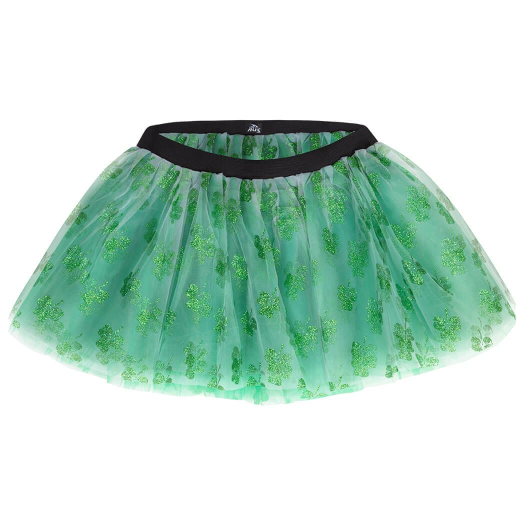Gone For a Run Runners Premium Tutu Lightweight | One Size Fits Most | Colorful Running Skirts | Shamrock by Gone For a Run