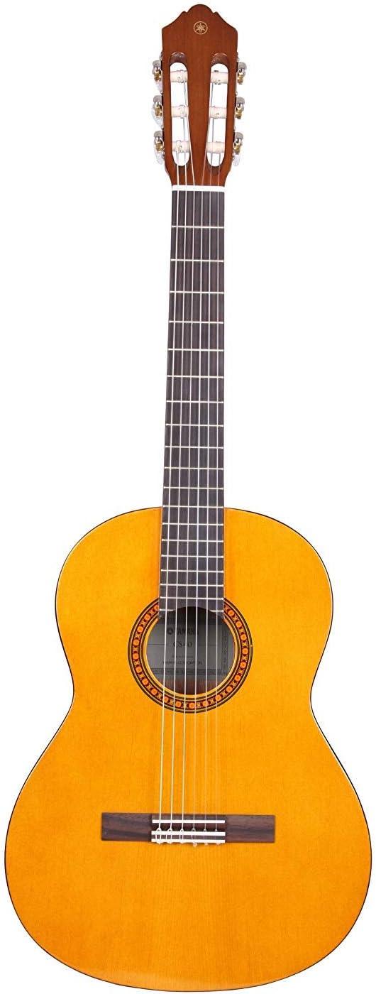 Yamaha CS40II Guitarra Cadete – Guitarra Clásica 3/4, 580 mm, 22 13/16