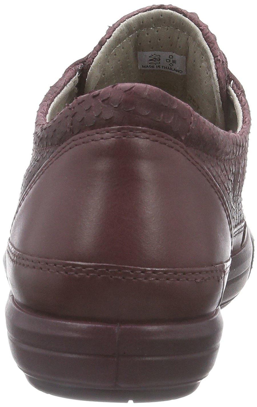 ECCO Dress Sneaker, Scarpe Stringate Stringate Scarpe Basse Derby Donna Rossobordeaux/Bordeaux 52999) c05c54