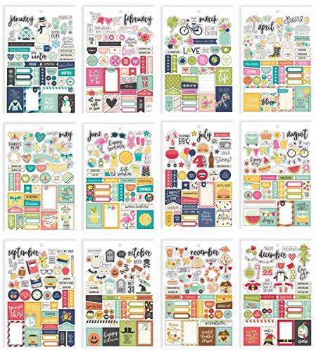 Carpe Diem by by Simple Stories Seasons Sticker Tablet]()