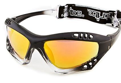 Amazon com : Pro Goggles Black Fade Frame/Revo Lens + Case