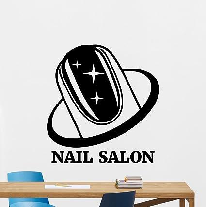 Nail Salon Wall Decal Manicure Salon Fashion Pedicure Salon Logo