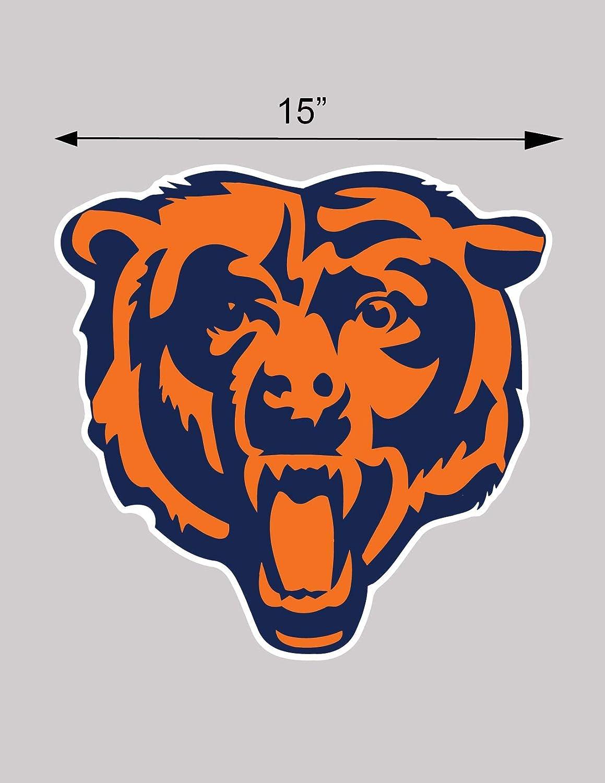 Chicago Bears cornhole board or vehicle decal s