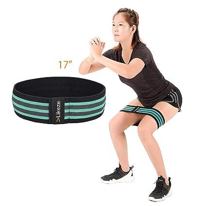 Amazon Com Vlikeze Fitness Resistance Bands Set Exercise Workout