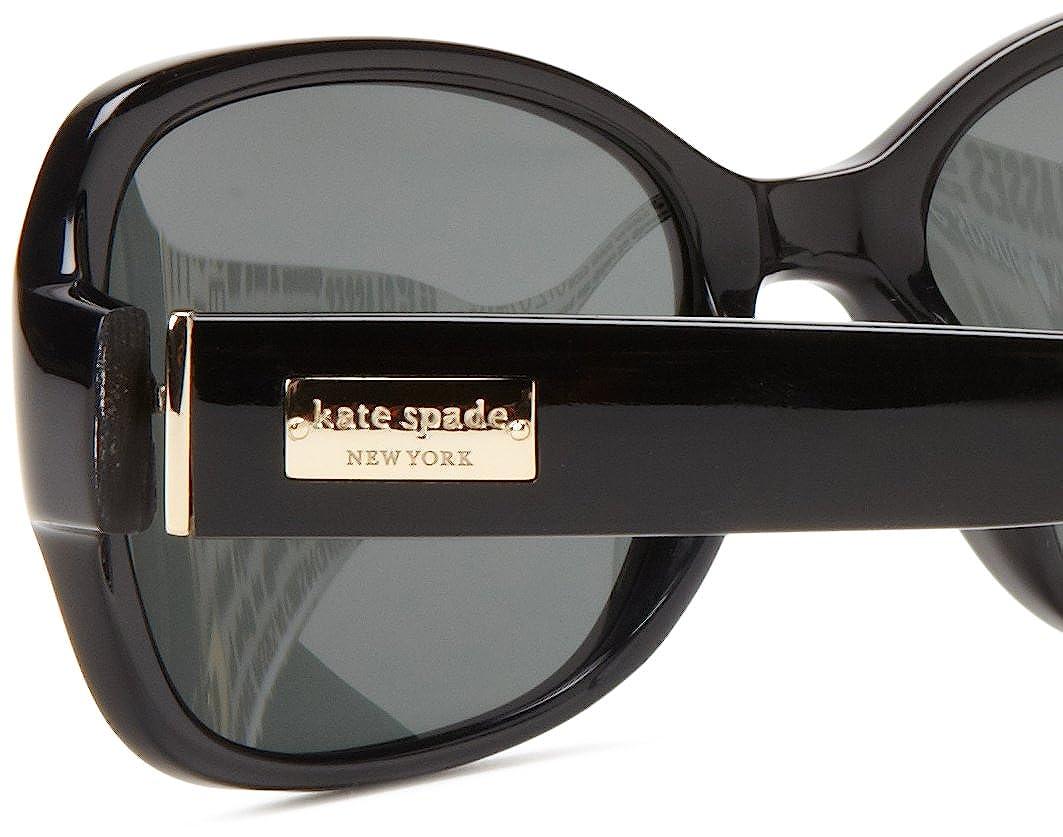 2bc66488afe Amazon.com  Kate Spade Women s Akira Polarized Rectangular Sunglasses