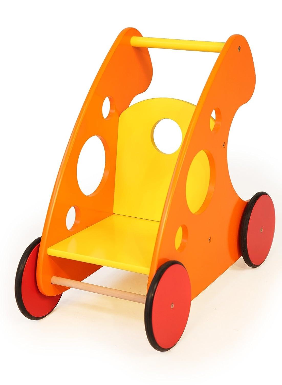 Bayer Design Carrito andador de madera, 53/29/49 cm (52243): Amazon.es: Juguetes y juegos