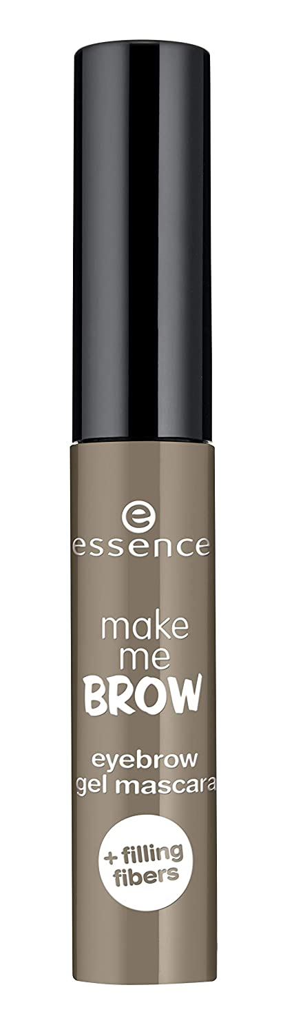 essence | 3-Pack Make Me Brow Eyebrow Gel Mascara 03 | Soft Browny Brows | Infused with Fibers to Fill & Sculpt | Vegan & Paraben Free | Cruelty Free
