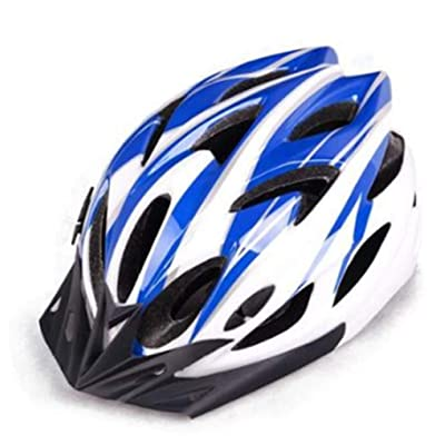 Xingqing Bike Helmet, Cycling Helmet Adjustable Bicycle/Climbing Helmet with Magnetic Visor&LED Safety Back Light for Adult Youth Men/Women Mountain&Road : Sports & Outdoors