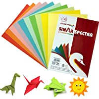 100 Sheets Smooth Finish A4 Size Rainbow Color - Paper Copy Printing Papers - Home, School, Origami Paper for Arts and…