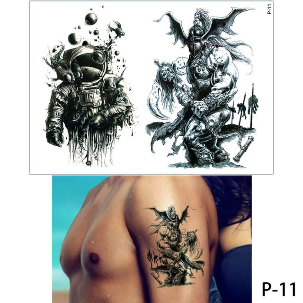 adgkitb 3 Piezas Cuerpo Tatuaje Flamenco Lindo Gato Arte Tatuaje ...