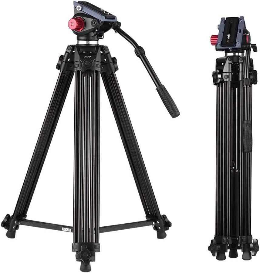 Andoer 170cm Caballete Fotográfico Trípodes Completos para Canon ...