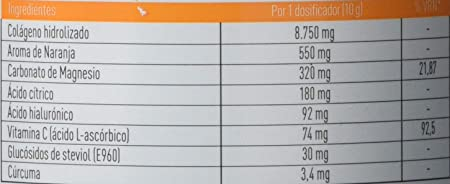 Corpore Protect Colágeno Hidrolizado Naranja, 300 gr: Amazon.es: Salud y cuidado personal
