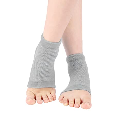 Purastep Unisex Silicone Gel Heel Socks
