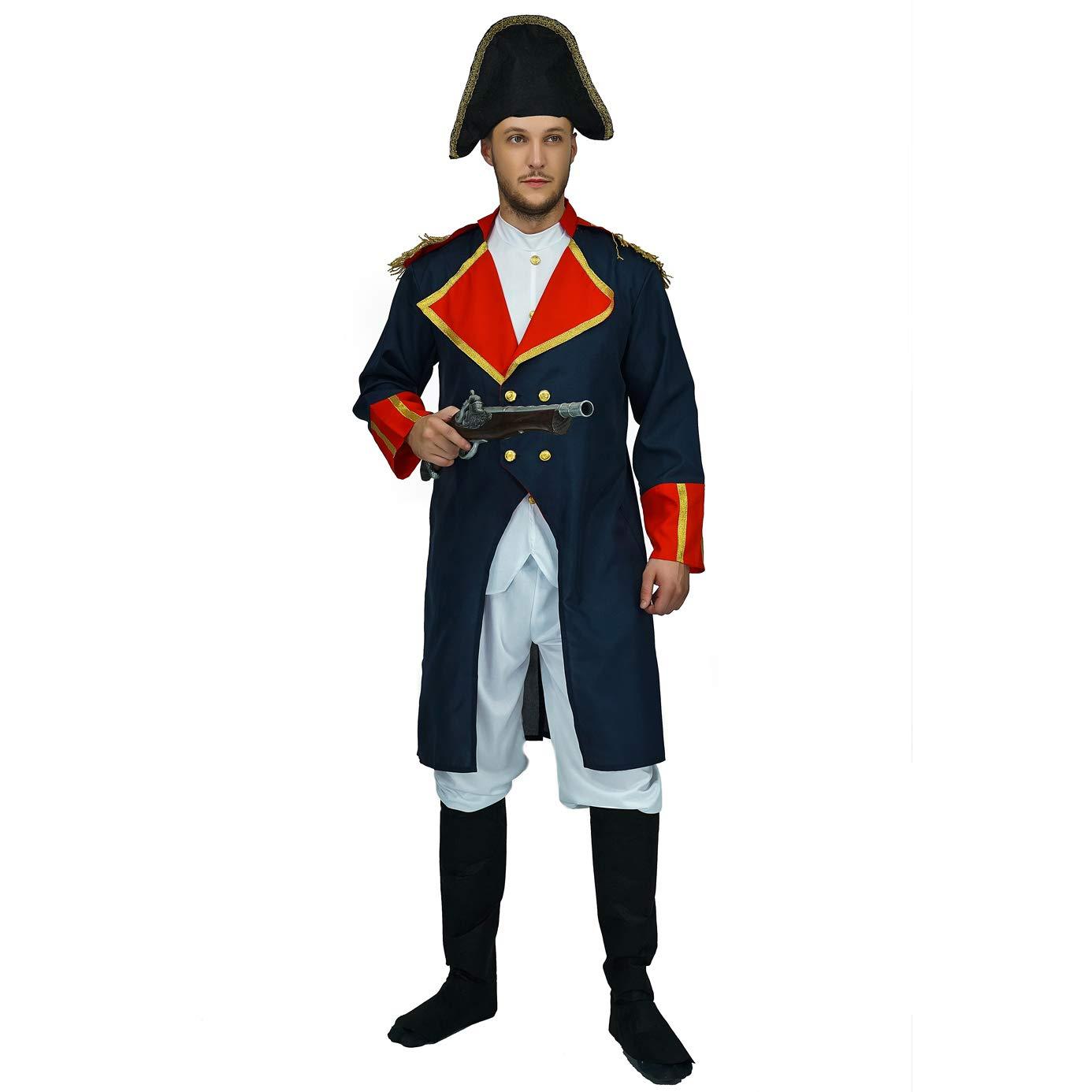 Men's Napoleon Fancy Dress Up Costume by PGOND