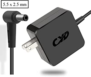 CYD 65W Powerfast Replacement for Laptop-Charger Asus Zenbook Vivobook Eee Book a53s a53u a450 a52f a53e a54c f551 f554 k401 k501 k55 x401 x450 x501 x502 x550 x551 x552 x554 x555 Power-ac-Adapter