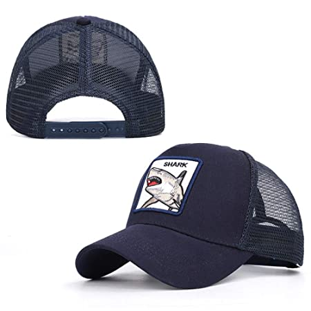 sdssup Tiburón Serie de Bordado Animal Gorra de béisbol sombrilla ...