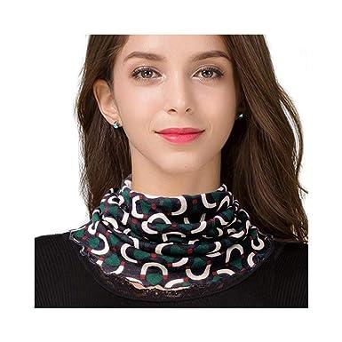 UK Stone Écharpe de boucle des femmes 100% laine écharpe motif coloré tube  écharpe hiver faux 335b8539d0c