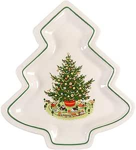Pfaltzgraff Christmas Heritage Tree Shaped Serving Plate