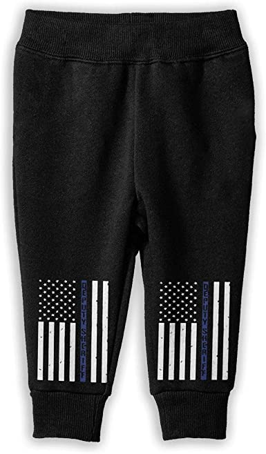 Udyi/&Jln-97 Deputy Sheriff US Flag Kids /& Toddler Pants Soft Cozy Boys Girls Jogger Play Pant