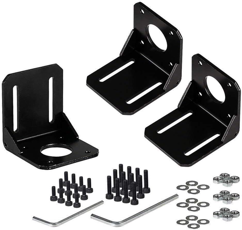 New Black Alloy steel Mounting Bracket Fitment Use for 42mm stepper motor NEMA17