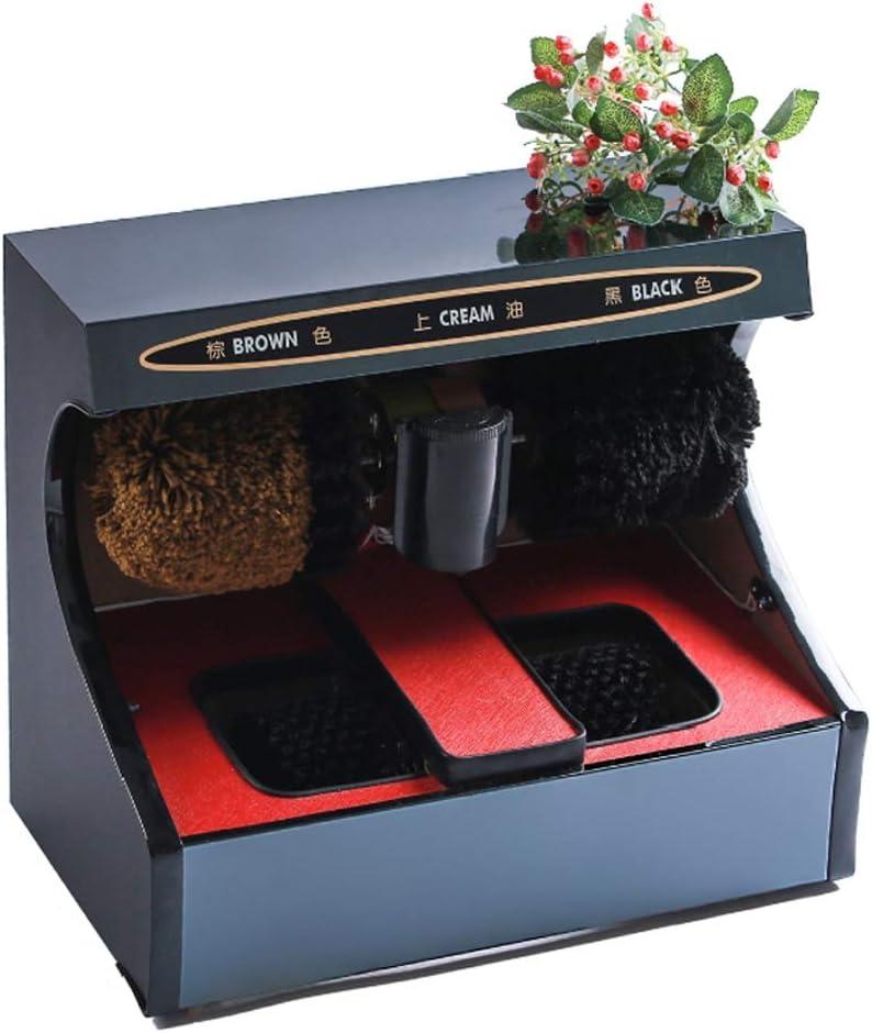 Wei Jun 靴磨き機自動誘導フル靴クリーニング家庭用電気靴磨き機、公共の場所に適した510X290X440mm /-/ (Color : B)