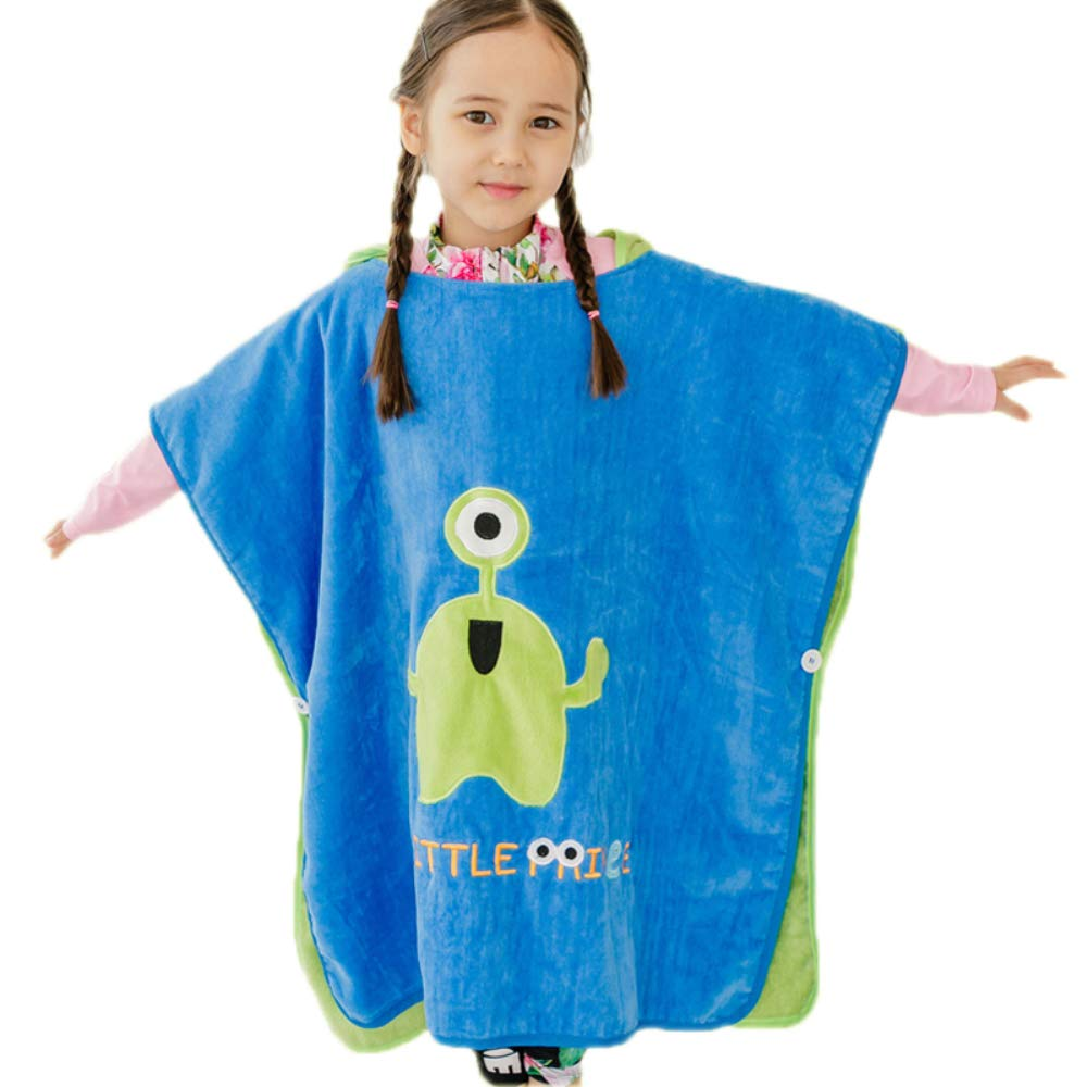 XXRBB Hooded Towels for Kids,Super Soft Cotton Robe Boys Girls Beach Poncho,for 0 to 9 Years Old Baby,70x140cm(28x55inch),2 by XXRBB