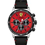 Ferrari Casual Watch For Men Analog Leather